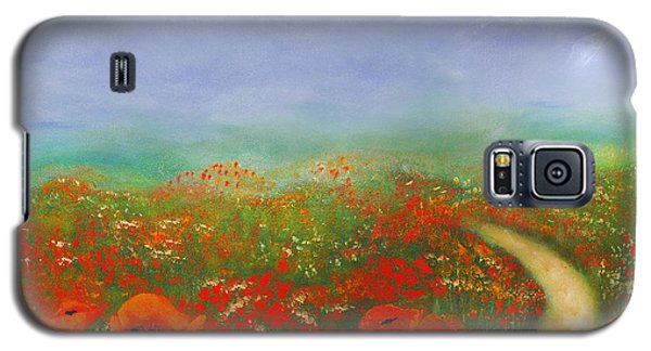 Poppy Field Impressions Galaxy S5 Case