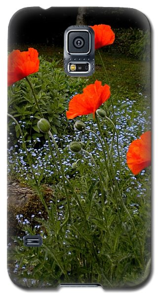 Poppy Foursome Galaxy S5 Case