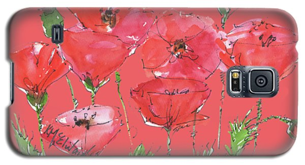 Poppy Garden Galaxy S5 Case