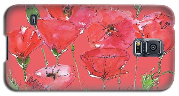 Poppy Garden Galaxy S5 Case