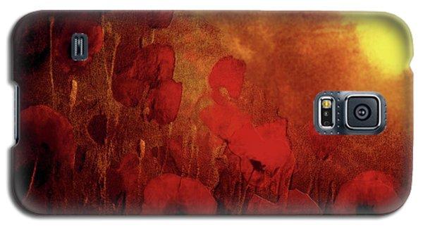 Poppy Heaven Galaxy S5 Case