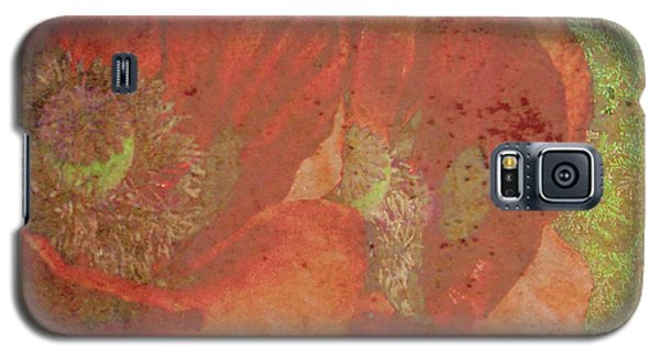 Galaxy S5 Case featuring the photograph Poppy Love by Traci Cottingham