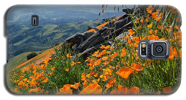 Poppy Mountain  Galaxy S5 Case by Kyle Hanson