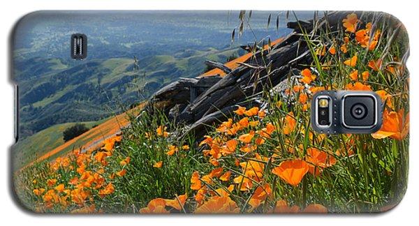 Poppy Mountain  Galaxy S5 Case