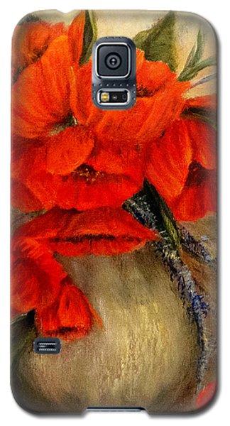 Poppy Passion Galaxy S5 Case