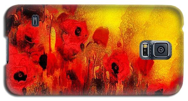 Poppy Reverie Galaxy S5 Case