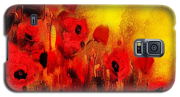 Poppy Reverie Galaxy S5 Case