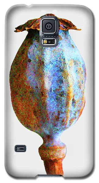 Poppy Seedhead - Orange Galaxy S5 Case