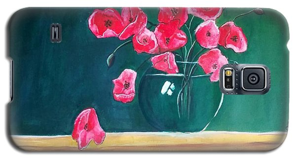 Poppy Still Life Galaxy S5 Case