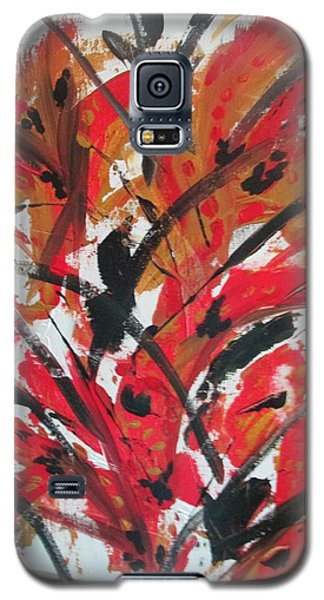 Poppy Storm Galaxy S5 Case by Sharyn Winters