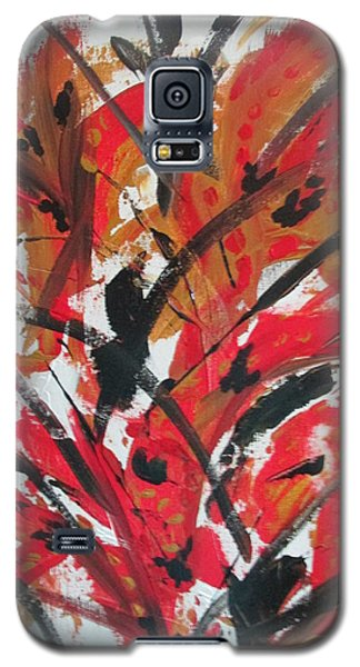 Poppy Storm Galaxy S5 Case
