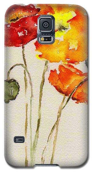 Poppy Trio Galaxy S5 Case