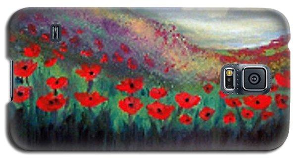 Poppy Wonderland Galaxy S5 Case by Holly Martinson