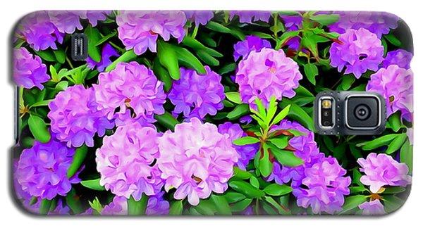 Pops Of Purple Galaxy S5 Case