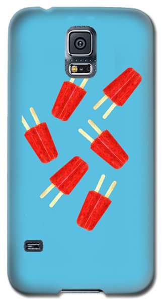 Desert Galaxy S5 Case - Popsicle T-shirt by Edward Fielding