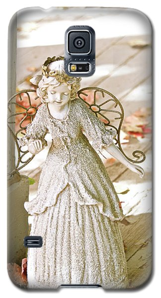 Porch Angel In The Fall Galaxy S5 Case