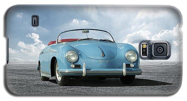 Galaxy S5 Case featuring the digital art Porsche 356 Speedster by Peter Chilelli