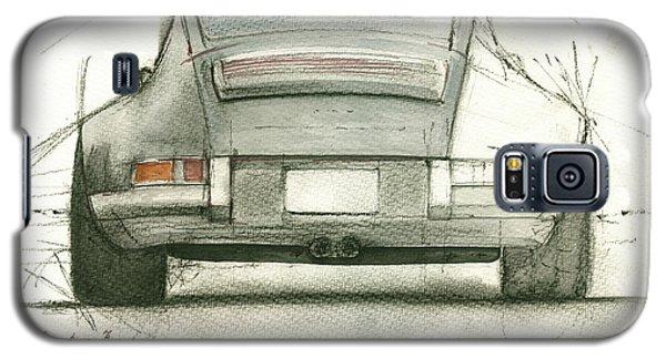 Watercolor Galaxy S5 Case - Porsche 911 Rs by Juan Bosco