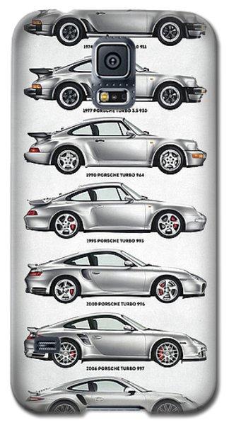 Porsche 911 Turbo Evolution Galaxy S5 Case