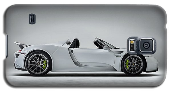 Galaxy S5 Case featuring the digital art Porsche 918 Spyder by Douglas Pittman