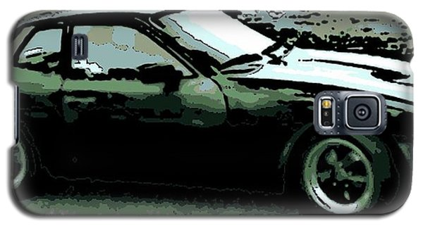 Porsche 944 On A Hot Afternoon Galaxy S5 Case by George Pedro