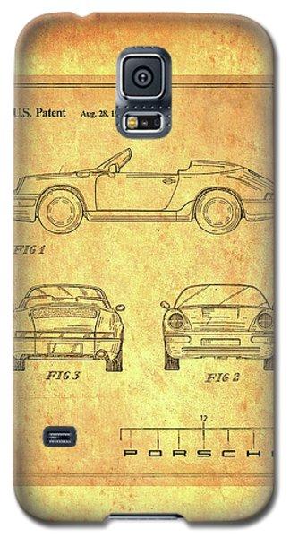 Porsche Blueprint Galaxy S5 Case by Steven Parker