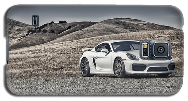 Porsche Cayman Gt4 In The Wild Galaxy S5 Case