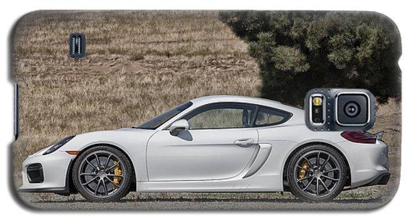 Porsche Cayman Gt4 Side Profile Galaxy S5 Case