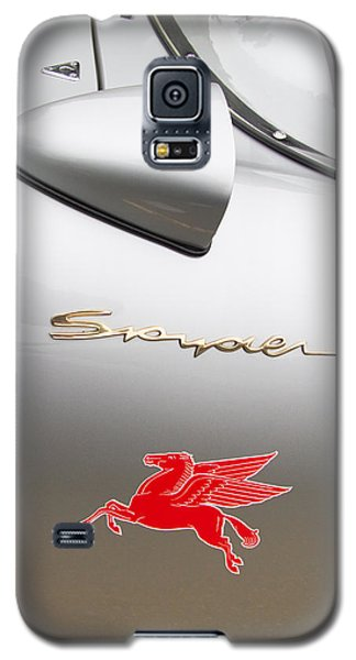 Porsche Spyder And The Flying Red Horse Galaxy S5 Case by Roger Mullenhour