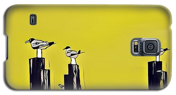 Port A Galaxy S5 Case