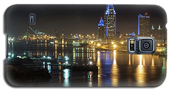 Port City Honors Blue Galaxy S5 Case