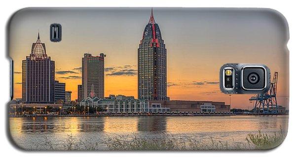 Port City Sunset 2 Galaxy S5 Case