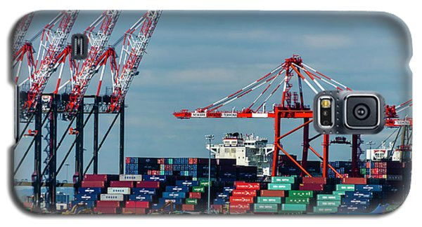Port Newark Container Terminal Galaxy S5 Case