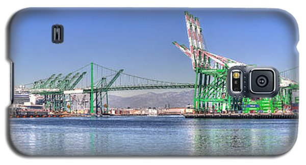 Port Of Los Angeles - Panoramic Galaxy S5 Case