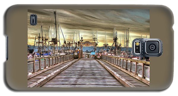 Port Of Newport - Dock 5 Galaxy S5 Case