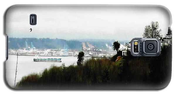 Port Of Tacoma At Ruston Wa Galaxy S5 Case by Sadie Reneau