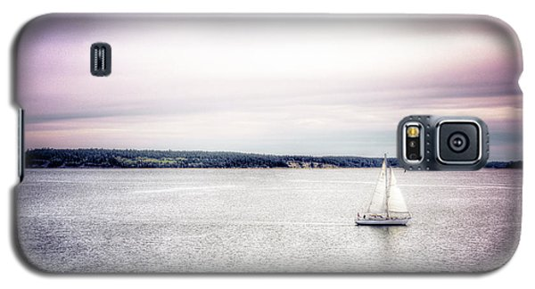 Galaxy S5 Case featuring the photograph Port Townsend Sailboat by Spencer McDonald