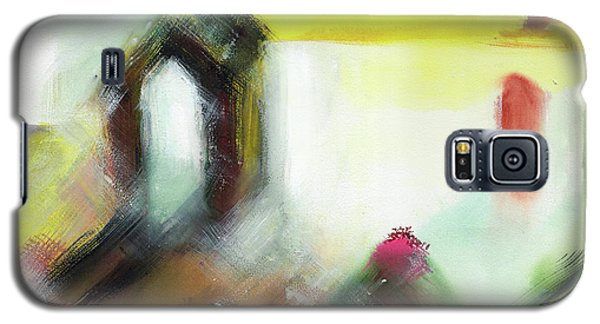 Galaxy S5 Case featuring the painting Portal by Anil Nene