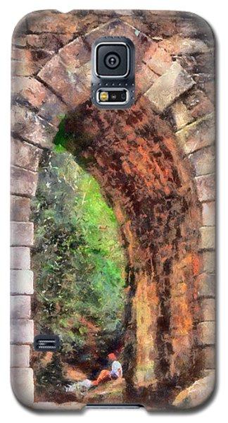Portal Into Summertime Galaxy S5 Case by Lynne Jenkins