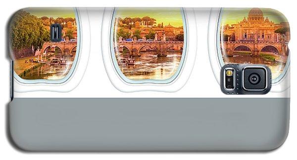 Porthole Windows On Rome Galaxy S5 Case