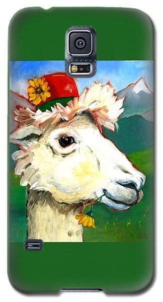 Portland Alpaca Galaxy S5 Case by Susan Thomas