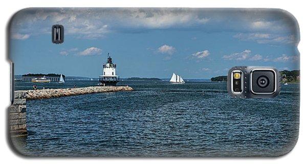 Portland Harbor, Maine Galaxy S5 Case