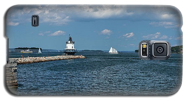 Portland Harbor, Maine Galaxy S5 Case
