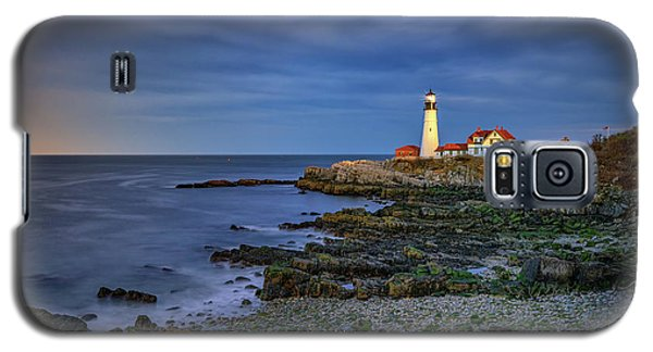 Portland Head Aglow Galaxy S5 Case by Rick Berk