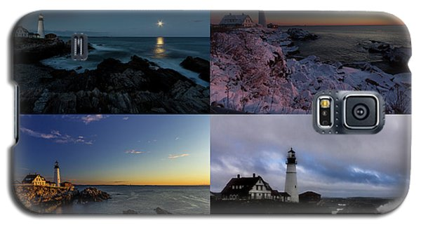 Portland Head Light Day Or Night Galaxy S5 Case