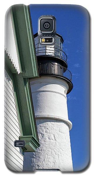 Galaxy S5 Case featuring the photograph Portland Head Light Detail by Arthur Dodd