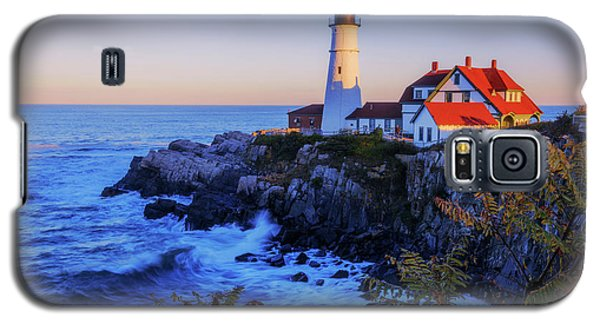 Portland Head Light II Galaxy S5 Case by Chad Dutson