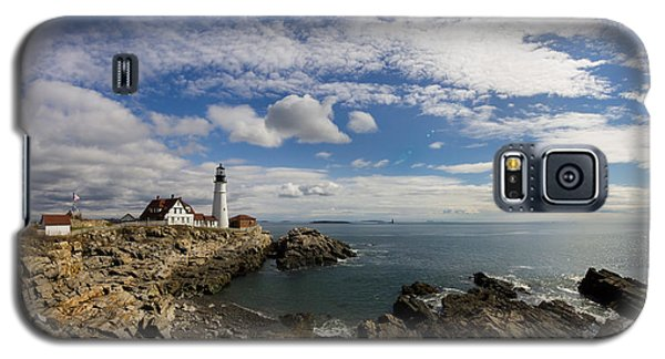 Portland Head Light Seascape Galaxy S5 Case