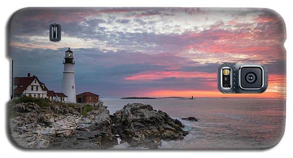 Portland Head Light Sunrise Galaxy S5 Case