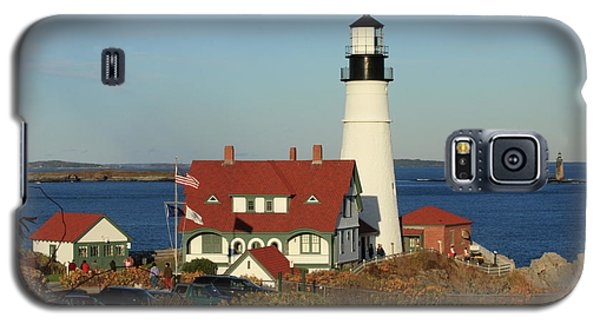 Portland Head Lighthouse 2 Galaxy S5 Case by Lou Ford